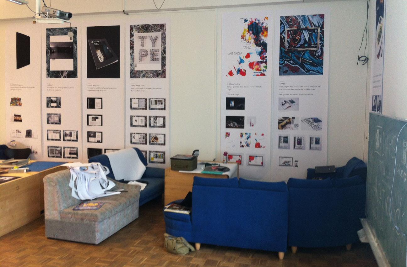 Creatieve studentenplek voor blog