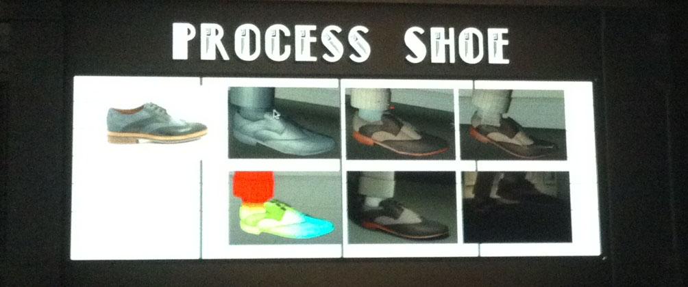 Schoenbewerking voor blog